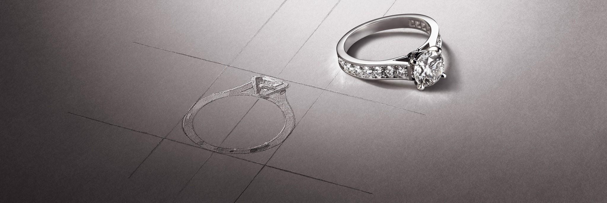 هكذا تضمنين اختيار خاتم تعشقينه للأبد