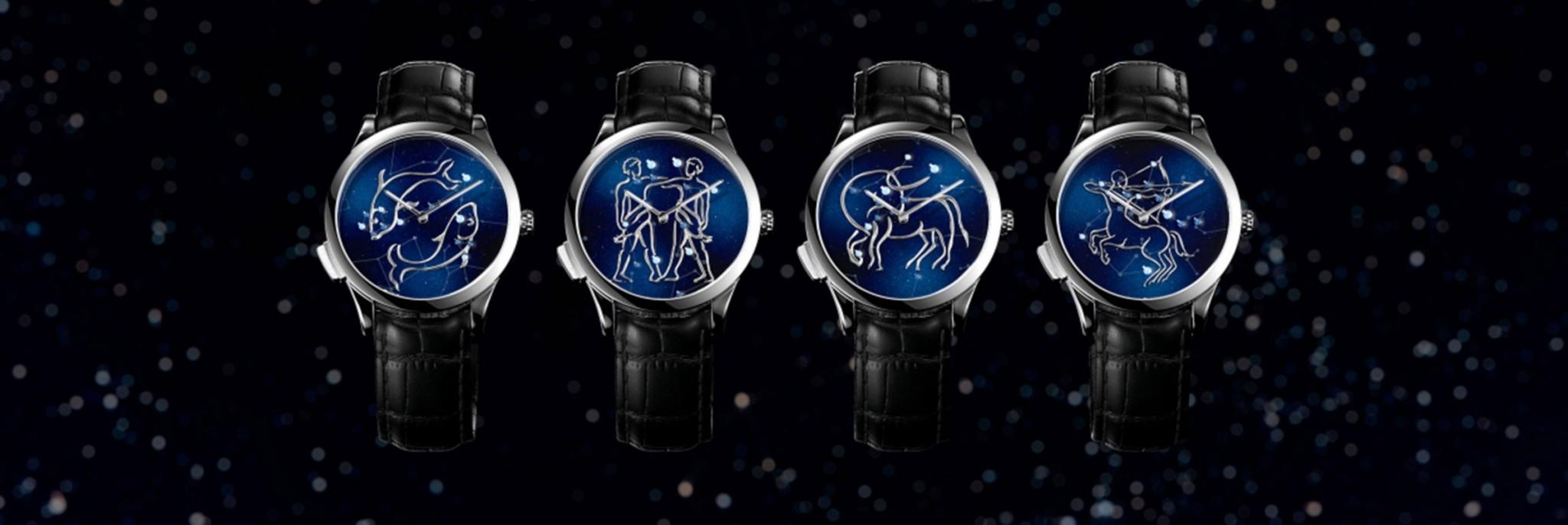 Van Cleef & Arpels ترسم النجوم بعقارب الوقت